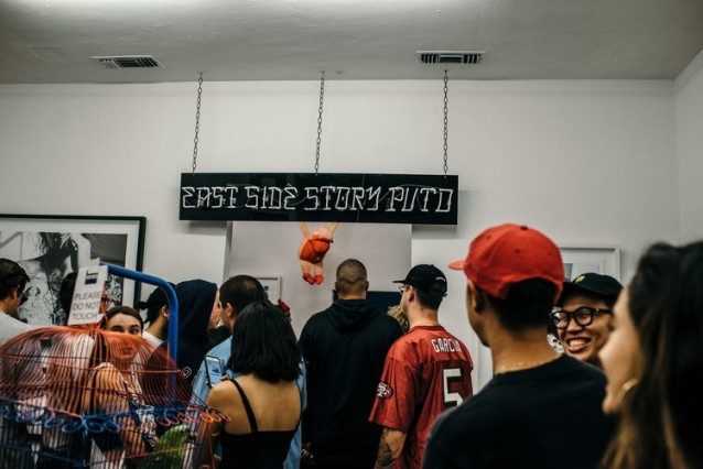"Gil Veni Vici's artshow titled ""East Side Story"" debuting at HVW8 Gallery on Friday Sept 23."