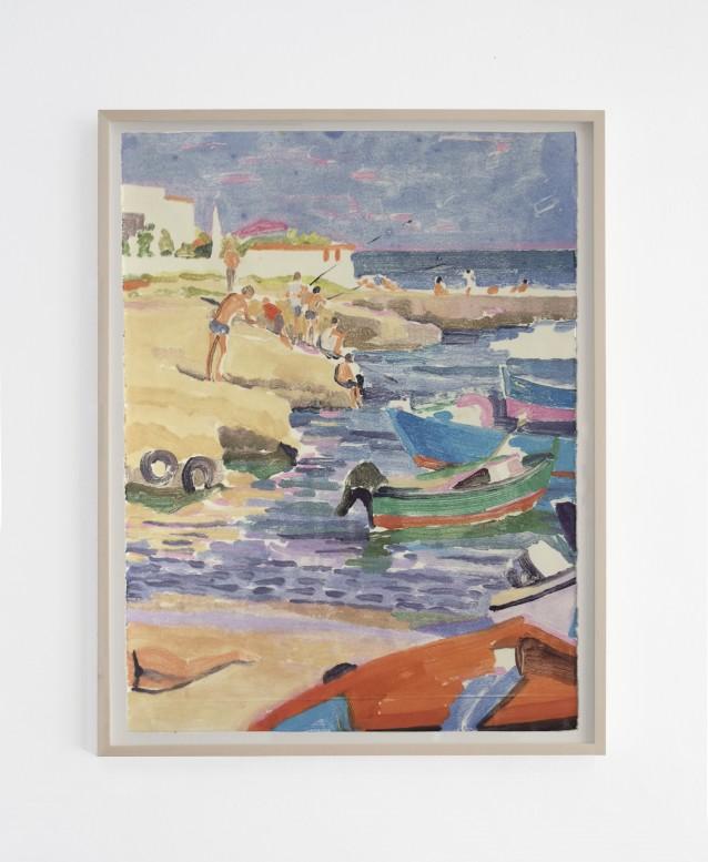 Beach 2. 76x57cm_framed copy