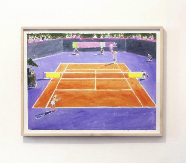 Court 1. 57x76cm_framed