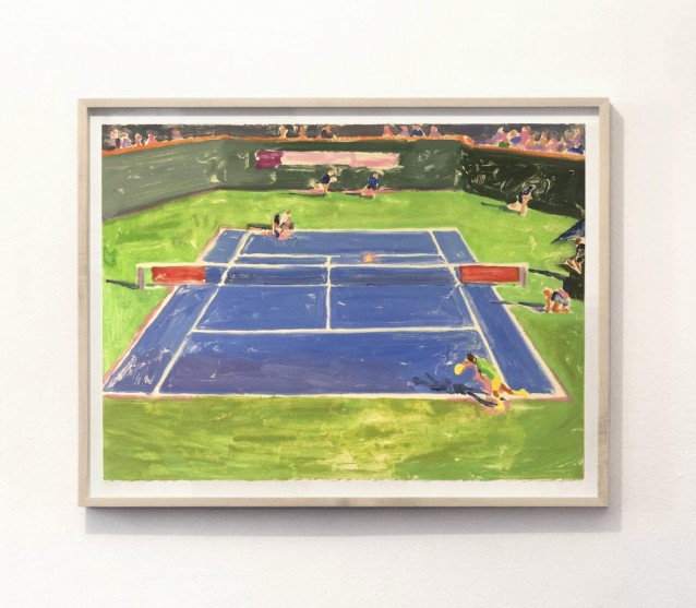 Court 2. 57x76cm_framed
