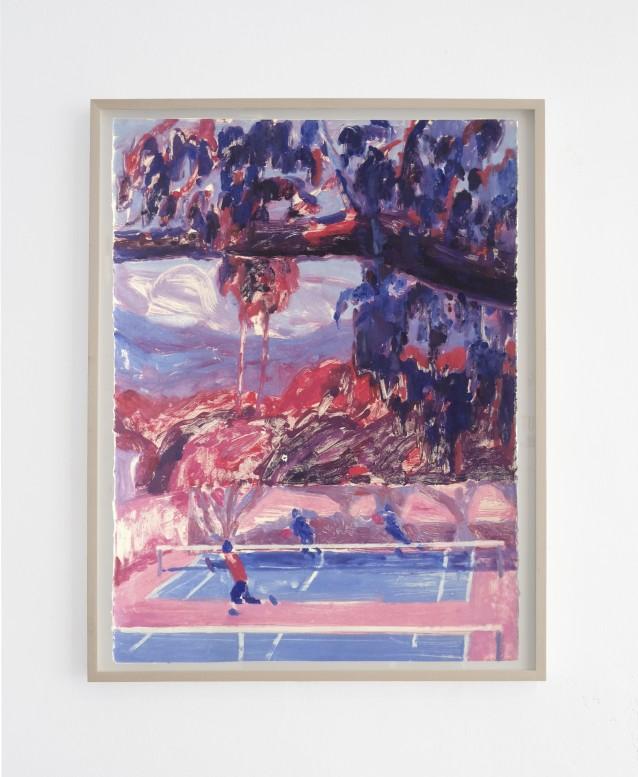 Court 3 - 76x57cm_framed