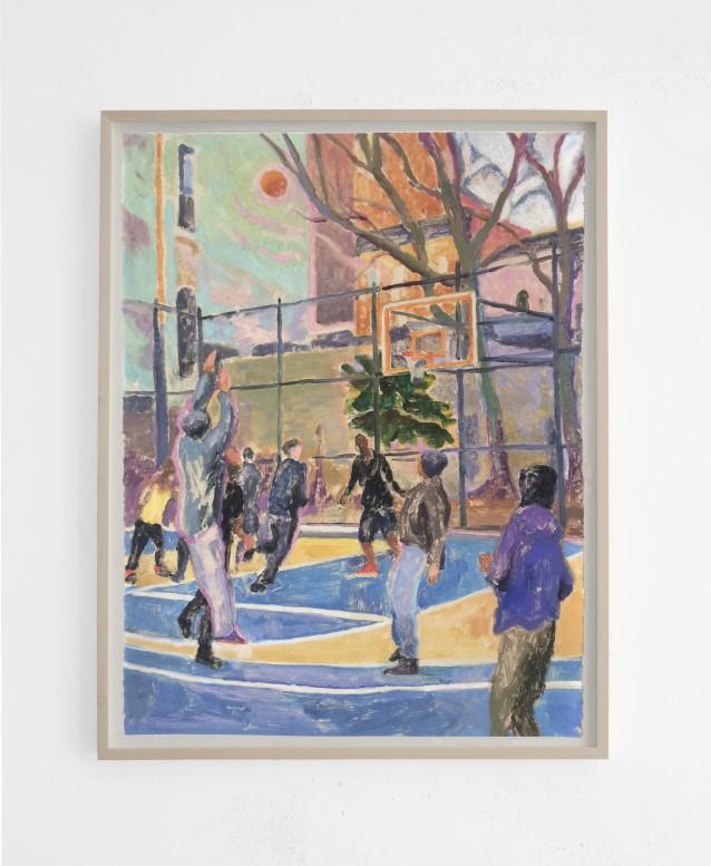 Court 4 - 76x57cm_framed
