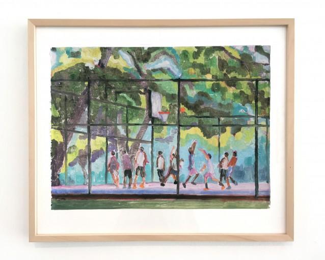 Court 7 - 38x51cm_framed