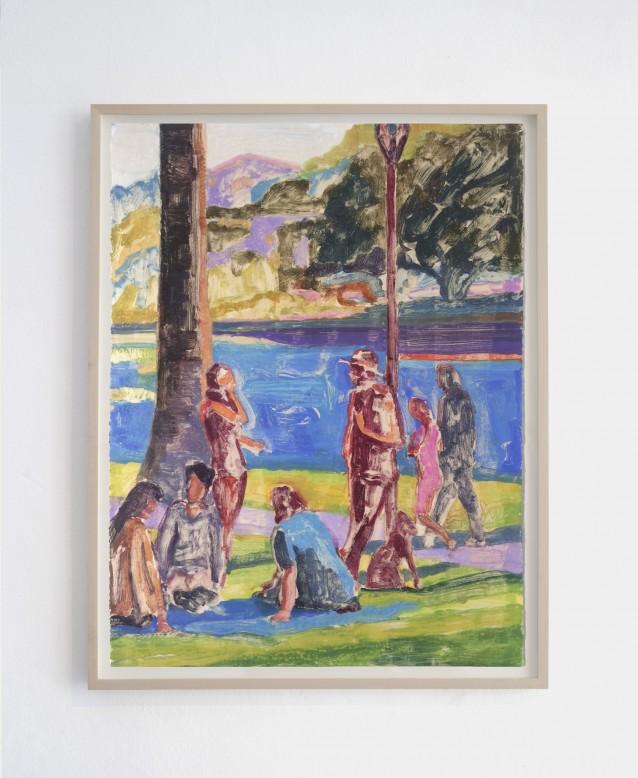 Lakeside 2. 76x57cm_framed