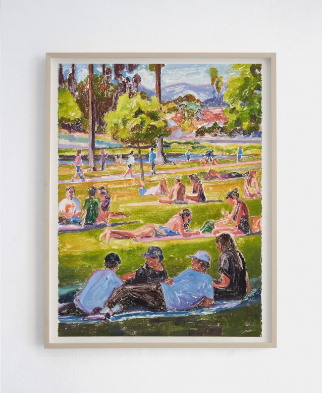 Lakeside 4. 76x57cm_framed
